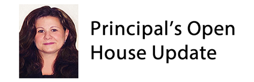 Principals open house update