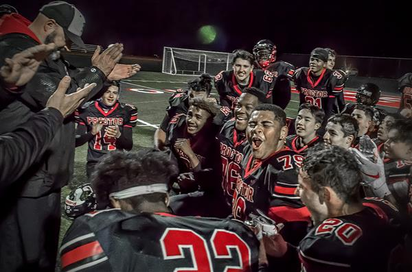 Proctor Football Advances to Championships for First Time in History