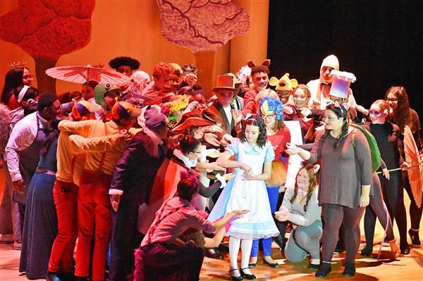 Proctor Drama Club Debuts Alice's Adventures in Wonderland