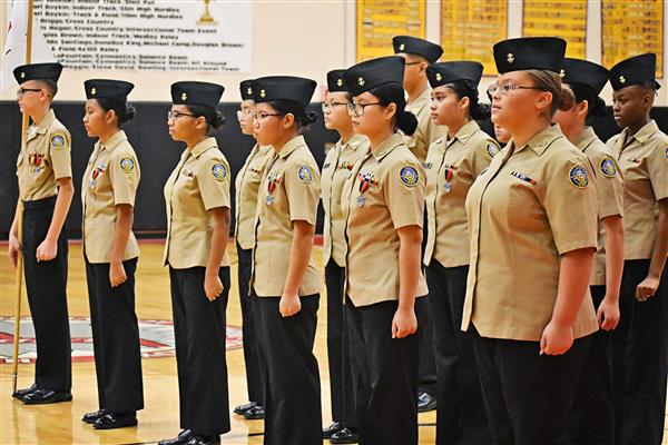 Proctor NJROTC Inspection Day