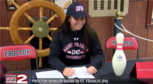 Proctor Bowler Kaitlynn Conte Signs DI National Letter of Intent
