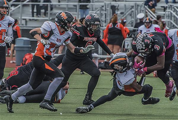 Raiders Football Defeat RFA in Rivalry Match